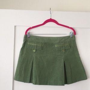 Susana Monaco mini skirt!